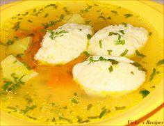 Supa de gaina, cu galuste de gris 1 Soup Recipes, Mashed Potatoes, Curry, Ethnic Recipes, Food, Smash Potatoes, Kalay, Meals, Curries