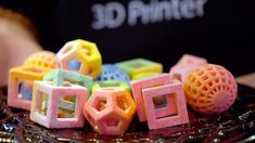 This is what 3D-Printed Food looks like!