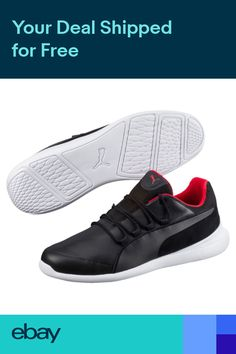 6a70bb0add3e New Mens Puma Ferrari Evo Cat - 306009-02 Black Training Sneaker
