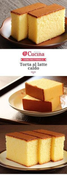 Torta al Latte Caldo - Fidelity House Cake Cookies, Cupcake Cakes, Cupcakes, Baking Recipes, Cake Recipes, Dessert Recipes, Delicious Desserts, Yummy Food, Torte Cake