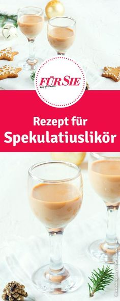 Spekulatius-Likör selber machen Recipe for speculum liqueur. Here you can make liqueur from speculoos themselves. Brunch Recipes, Cocktail Recipes, Snack Recipes, Snacks, Cocktails, Homemade Frappuccino, Homemade Liquor, Coconut Milk Smoothie, Easy Smoothie Recipes