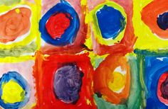 I have taught Kandinsky to intermediate students in the past and can't wait to share this idea with my JK/SKs!  They love to paint and will think that Kandinsky is the cats meow:)
