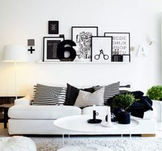 black & wite modern architecture | 20 Inspiring Wonderful Black and White Contemporary Interior Designs ...