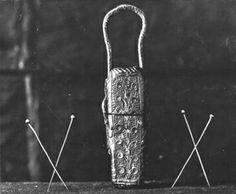 Needle case, 14th century, Stadtmuseum, Kolin