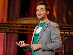"""Alexis Ohanian: How to make a splash in social media via TED. the Internet loves Mister Splashy Pants. Which is obvious. Everyone wants to hear their news anchor say, """"Mister Splashy Pants. Ted Talks Education, Alexis Ohanian, Meme Maker, Social Media Video, Spanish Lessons, Great Videos, A Funny, Learning, How To Make"""