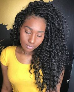 Unique Crochet Braids Havana Twist Hairstyles Crochet Braids Hairstyles With Straight Hair Crochet Braids Hairstyles - Hairstyle & Tatto Inspiration for You Faux Locs Hairstyles, Crochet Braids Hairstyles, My Hairstyle, Girl Hairstyles, Hairstyles 2018, Hairstyles Videos, Hairstyles Pictures, Crochet Straight Hairstyles, Crochet Braids Straight Hair