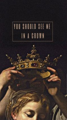 You should see me in a crown – Billie Eilish 👑 ou - Unique Wallpaper Quotes Wallpaper Pastel, Mood Wallpaper, Aesthetic Pastel Wallpaper, Tumblr Wallpaper, Screen Wallpaper, Wallpaper Quotes, Aesthetic Wallpapers, Iphone Wallpaper Art, Iphone Wallpapers