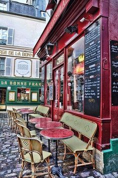 Love Paris Cafes