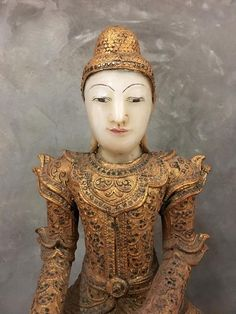 Alabaster Stone, Sitting Buddha, Buddha Statues, Wood Sculpture, Sculptures, Order Photos, Mandalay, Burmese, Acacia Wood
