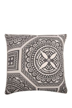Lisbon Pillow - Charcoal by Thomas Paul on @nordstrom_rack