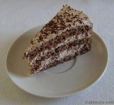 Kipróbált és bevált receptek: Gesztenye torta Tiramisu, Tart, French Toast, Cheesecake, Sweets, Baking, Breakfast, Ethnic Recipes, Food