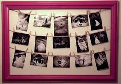 Empty Frames, Marry Me, Bobs, Wedding Photos, Wedding Decorations, Photo Wall, Happiness, Wedding Photography, Wall Decor
