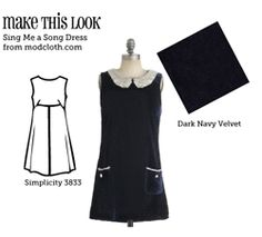 sewing pattern for a fav Modcloth dress!