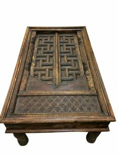 Antique Coffee Table Carved Arch Door Rustic Coffee Tables India Furniture  Mogul Interior,http:
