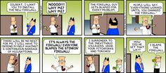 Dilbert comic strip for 04/07/2013 from the official Dilbert comic strips archive.