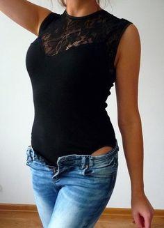 Kup mój przedmiot na #vintedpl http://www.vinted.pl/damska-odziez/topy-koszulki-i-t-shirty-inne/10892902-body-s-m-czarne-koronkowe-koronkowy-dekolt-pod-zakiet-marynarke-eleganckie-sexy-black-minimal-style