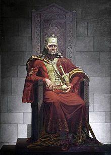 Kralj Tomislav na prijestolju.JPG