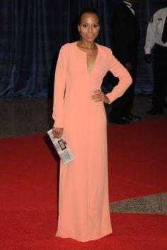 Kerry Washington wearing Calvin Klein