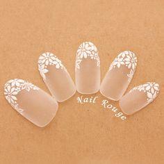 ...|ネイルデザインを探すならネイル数No.1のネイルブック Nail Decals, Nail Stickers, Bridal Nails, Wedding Nails, Shellac Nails, Acrylic Nails, Almond Nails Designs Summer, Glitter French Manicure, Damaged Nails