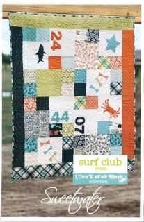 Lucy's Crab Shack Surf Club Quilt Pattern - by Sweetwater (P188)