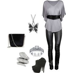 Clubbing Outfit, created by sweetcupcake7 on Polyvore