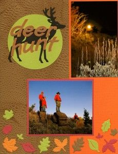 Deer Hunting Layout