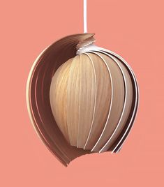 Swedish design studio Kovac Family has designed the LED wooden lamp : to reduce emissions, they wanted to create a packaging as small as po Interior Lighting, Home Lighting, Decor Interior Design, Lighting Design, Luminaire Design, Lamp Design, Rattan Lampe, Lampe Led, Wood Lamps