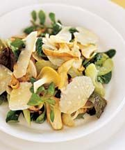 Porcini Mushroom and Celery Salad   (Insalata di Porcini e Sedano)
