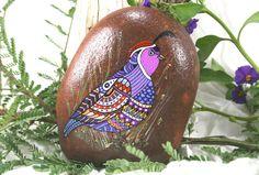 RESERVARSE el DH pintadas Mandala de piedra por HiddenHorseRocks