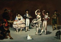 Manet spanish dancing