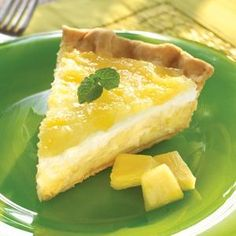Pineapple Surprise Pie-Yummy