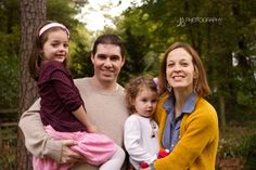 Backyard Family Portrait Session - Image Property of www.j-dphoto.com