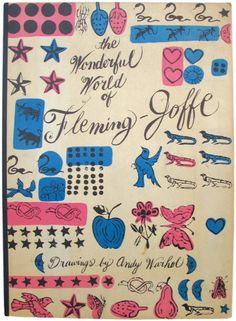 The Wonderful World of Fleming-Joffe vintage book cover by Andy Warhol