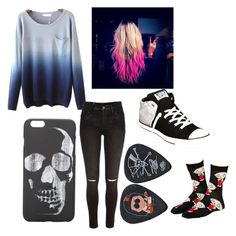 """""""OOTD"""" by fluffypunkk on Polyvore featuring River Island, ASOS and Converse"""