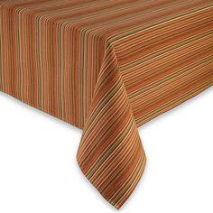 Autumn Stripe Tablecloth
