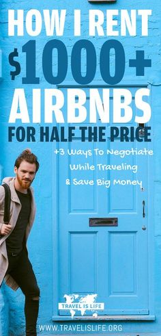 I love to negotiate. I believe that everything is negotiable. And since I travel full time, that's where most of my negotiations take place. Learn how I save $1000 Airbnbs for half price, plus three ways to negotiate while traveling & save big money. | Br Travel Articles, Travel Advice, Travel Guides, Travel Tips, Travel Hacks, Travel Destinations, Travel Essentials, Travel Money, Budget Travel