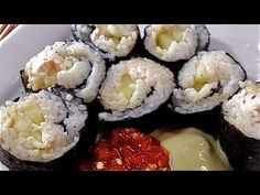 homemade philly sushi rolls