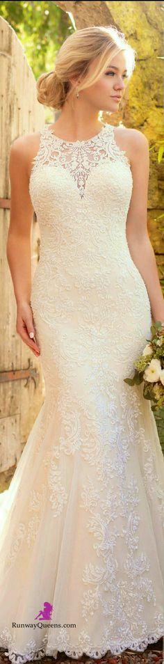 Essence design, Bridal 2017, white, lace https://bellanblue.com http://bellanblue.com