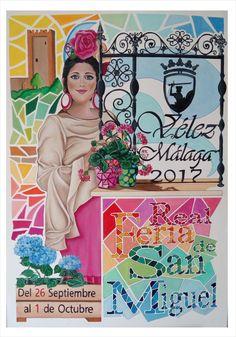 CARTEL PRESENTADO FERIA REAL SAN MIGUEL VELEZ MALAGA 2017