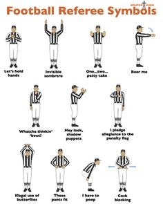 """I laughed the Whole way through this!! -- """"Dammit. I will never be able to watch football ever again without giggling at the refs."""""""