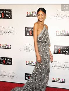 dab55eb4c2c 17 Best Chanel Iman Evening Gowns images