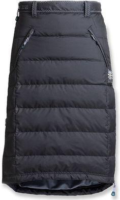 Skhoop of Scandinavia The original insulated skirt. Modest Outfits, Skirt Outfits, Modest Fashion, Skirt Fashion, Dress Skirt, Fashion Outfits, Fashion Details, Love Fashion, Fashion Looks