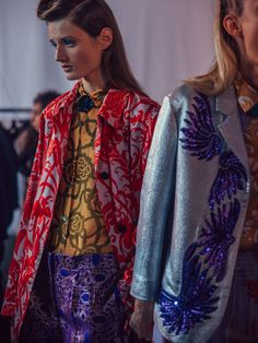 Dries Van Noten SS16 Backstage
