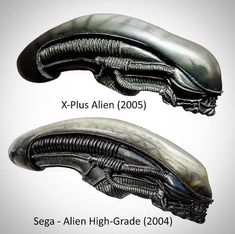 Sega Alien vs. X-Plus Alien. The #Sega Alien was released as a Snap Kit and The #Xplus Alien as Pewter Version. Booth are rare Alien Collector items. Join us on Facebook - #AlienCollectors - The largest Alien Collector Group on #Facebook with over 12 300 collectors #PhotoOfTheDay #BestOfTheDay #Instagood #NoFilter #YOLO #SWAG #Fox #Disney #Alien #AlienCovenant #Prometheus #Xenomorph #Giger #SciFi #SyFy #Props #Statues #AvP #RidleyScott #JamesCameron #prop #movieprops Predator Series, Predator Alien, Giger Alien, Hr Giger, Alien Figure, Alien Covenant, Alien Spaceship, Aliens Movie, Alien Art