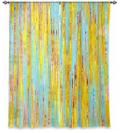 Window Curtains Unlined by Iris Lehnhardt - Correlation I contemporary-curtains