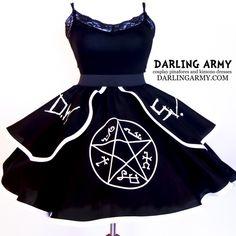 Supernatural Devi's Trap Impala Winchester Cosplay Lolita Skirt | Darling Army
