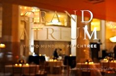 200 Peachtree Special Events #wedding