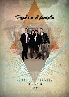 """Quadretto di famiglia """"Nardelli's Family"""""""