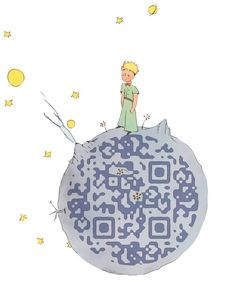 Look out for the Little Prince's QR code!