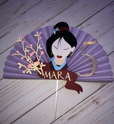 Mulan cake topper measures Made with card-stock. 9th Birthday, Birthday Parties, Martial Arts, Cake Toppers, Card Stock, Craft Supplies, Party Ideas, Etsy Shop, Cakes